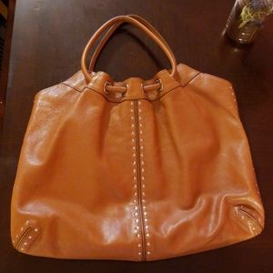 Michael Kors Camel Leather Bag